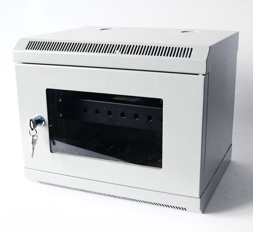 LC-R10-W6U300 drzwi szklane - Wiszące szafy teleinformatyczne 10
