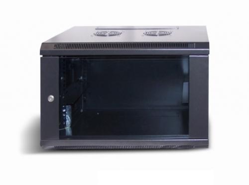 LC-R19-W6U450 Czarna - Wiszące szafy teleinformatyczne 19