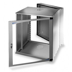 LC-R19-W10U500 Tecno Dzielona - Wiszące szafy teleinformatyczne 19